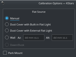 calibration settings